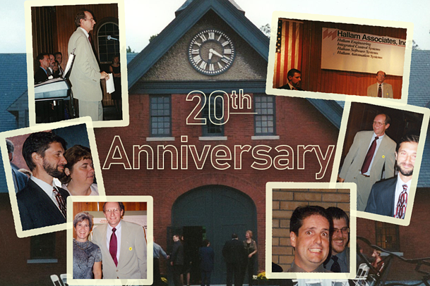 20th anniversary collage