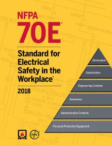 NFPA70E 2018