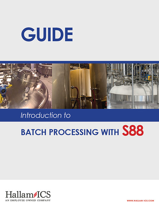 Batch process S88 Guide feature