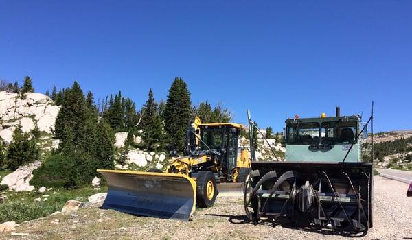 Beartooth snow removal