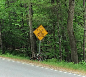 Cyclists Use Caution-1