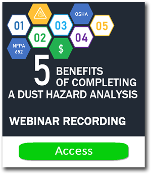 Dust hazard Webinar recording CTA