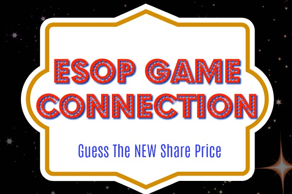 ESOP Game Connection Guess The New Share Price
