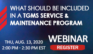 What Should be Included in a TGMS Service & Maintenance Program