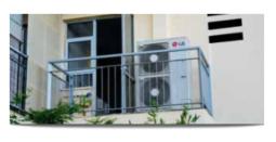 Figure 6_Air Source VRF Outdoor Unit on Porch LG Website