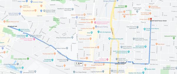 Krispy Kreme Challenge Route
