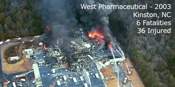 NFPA 652 West Pharma Dust Explosion