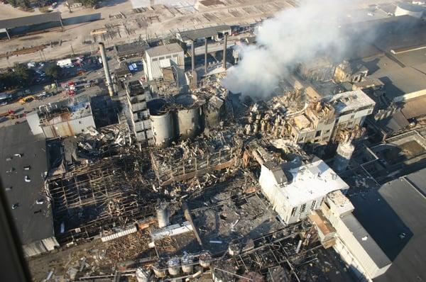 Sugar Refinery Explosion