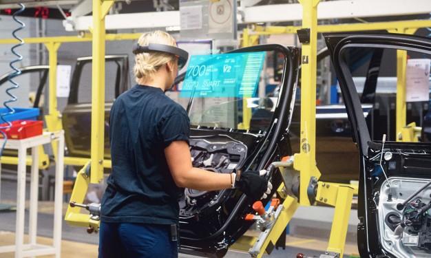 Volvo Cars Microsoft HoloLens