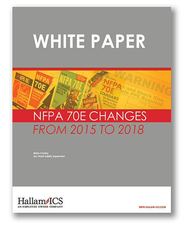 WP NFPA 70E changes from 2015 to 2018