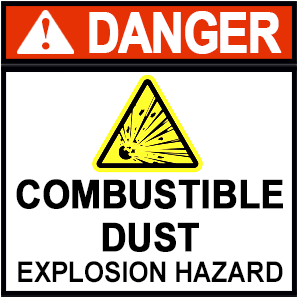 combustible dust explosion hazard