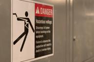 electrical shock hazard