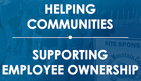 helping communities while supporting employee ownership