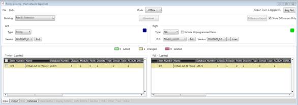 PLC Desktop application