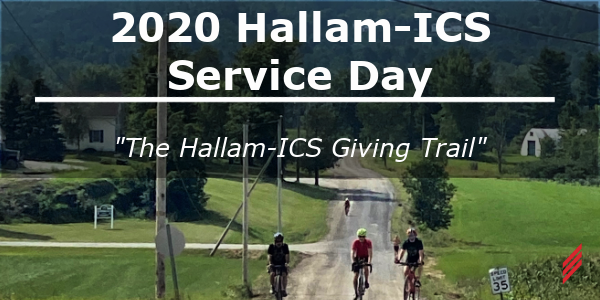 "2020 Hallam-ICS Service Day - ""The Hallam-ICS Giving Trail"""