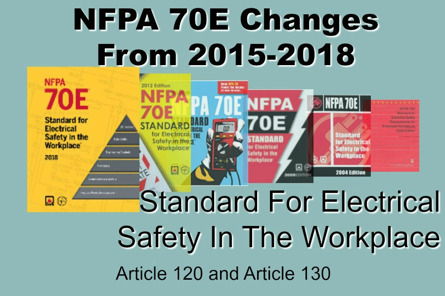 NFPA 70E Changes from 2015 to 2018 Standard for Electrical Safety in the Workplace – Article 120 and Article 130