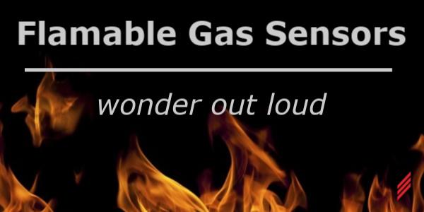 Flammable Gas Sensors-Wonder Out Loud