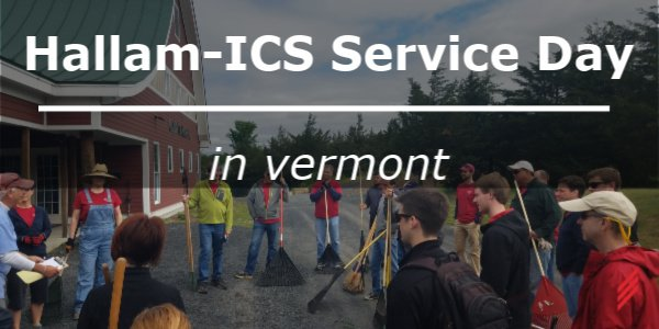 Hallam-ICS Service Day in Vermont