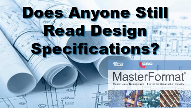 Relevance of Design Specifications in Contract Documents