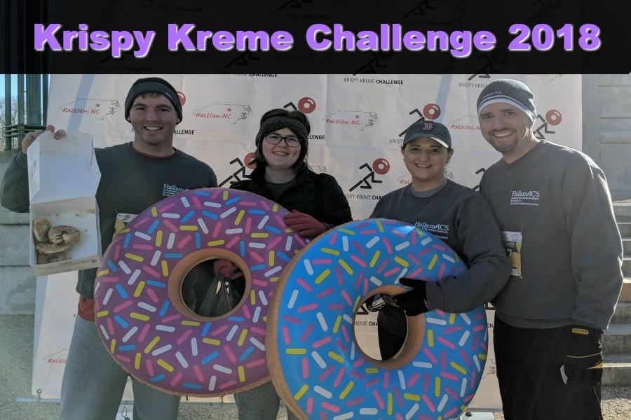 Krispy Kreme Chellenge 2018