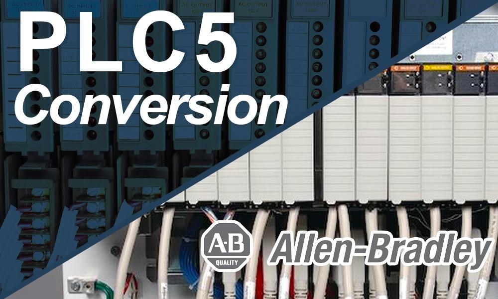 PLC5 to ControlLogix Conversions – A multi-year Conversion Case Study