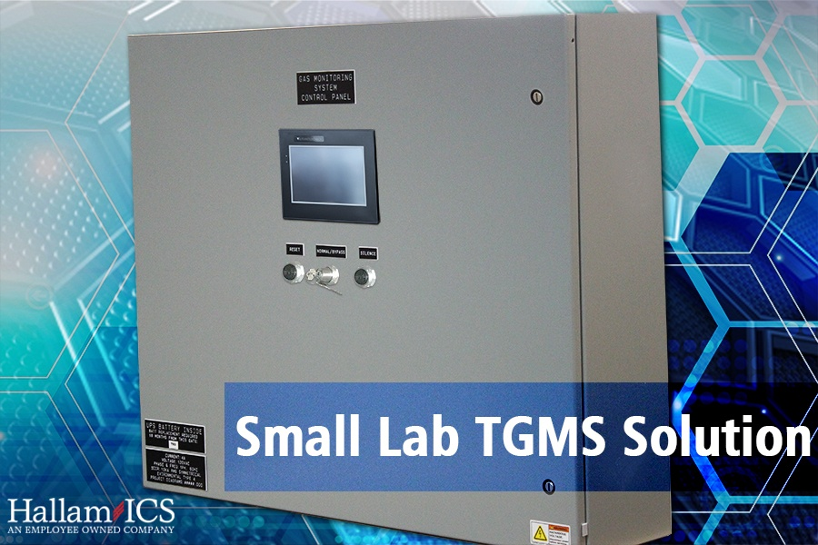 Small Lab Toxic Gas Monitoring Solution