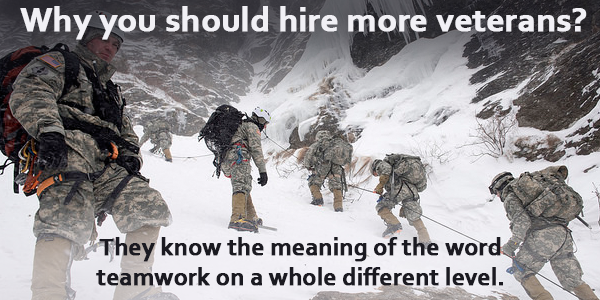 Why You Should Hire Veterans?