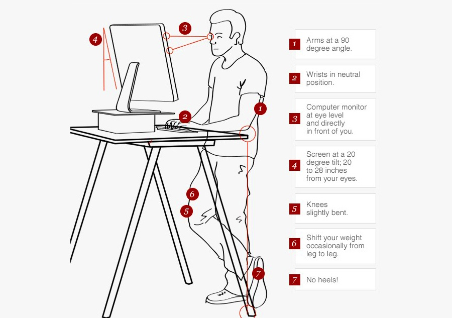 5 Standing Desk Tips And 5 Ways To Move At Work