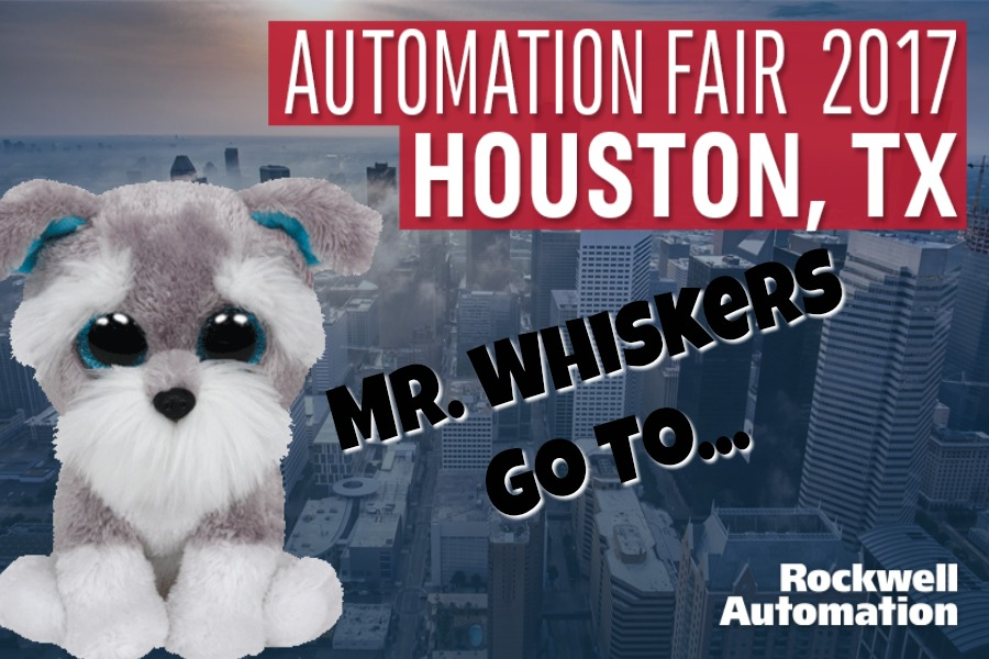 Mr. Whiskers Goes to Rockwell Automation's Automation Fair
